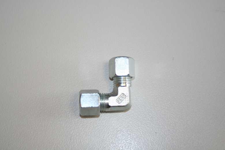 Winkel für Gasleitung – 8mm Schneidring