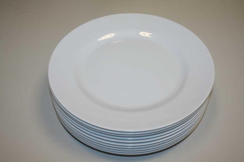 Melamin Geschirr Teller tief – 23 cm (96 Stck.)